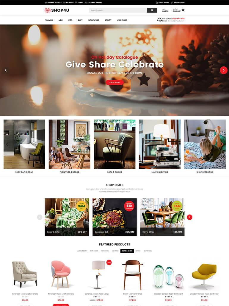 Mẫu website do học viên thiết kế
