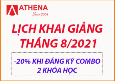 Lịch Khai Giảng Các Khóa Quản Trị Mạng, An Ninh Mạng, Quản Trị Website Tháng 8/2021