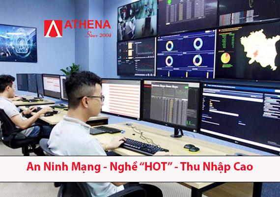 """Lý do khiến Ngành  An Ninh Mạng là Ngành """"HOT""""-Thu nhập cao ?"""