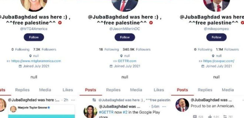 Mạng xã hội của ông Donald Trump vừa ra mắt đã bị hack