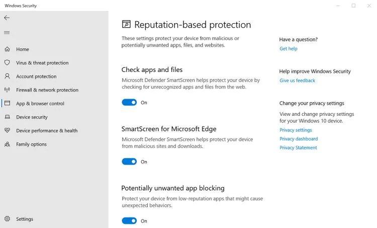 Bật Smartscreen để bảo mật máy tính win 10 của bạn trước các ứng dụng độc hại