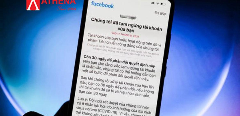 Nhiều tài khoản Facebook tại Việt Nam có nguy cơ bị khóa vĩnh viễn ?