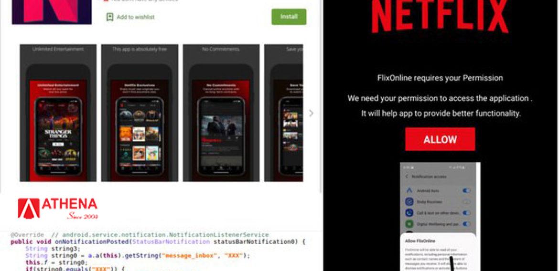 """Ứng dụng độc hại giả """"Netflix"""" cần  gỡ bỏ khỏi điện thoại ngay lập tức"""